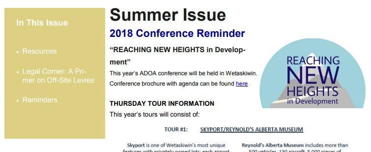 Summer Communicator – 2018