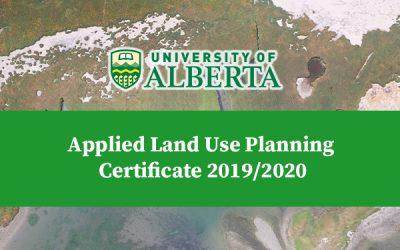 Applied Land Use Planning Certificate 2019/2020